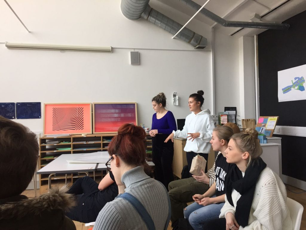 Working with UCA undergraduates: post-work city design brief